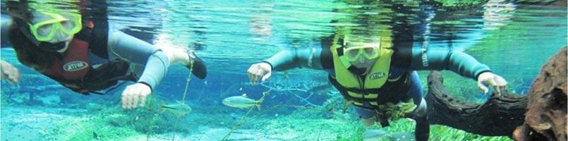 Flutuação no Rio da Prata