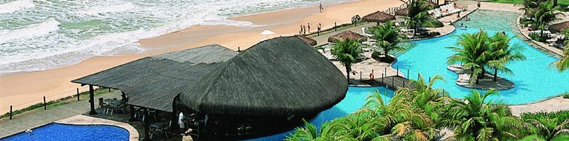 Área da piscina e Praia de Barreira d'Água